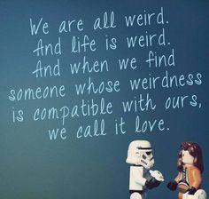 love | via Facebook #weird