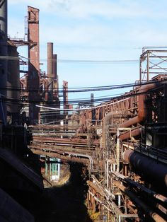 Abandoned Weirton Steel Mill
