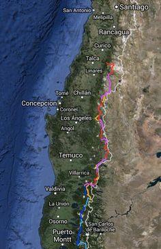 San Antonio, Thru Hiking, Patagonia, Passport, Trail, Corner, Earth, Map, Bariloche