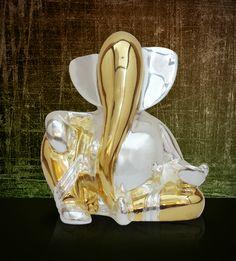 Appu Ganesha Two Tone (Small),Ganesha,Laxmi Ganesh,Krishna Statue Online Gift Shop, Online Gifts, Krishna Statue, Religious Gifts, Lord Ganesha, Corporate Gifts, Decoration, Decorative Items, Heavenly
