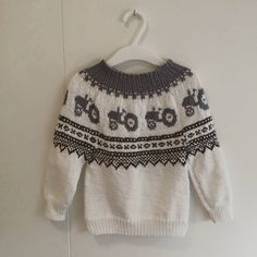 Knitted sweater baby
