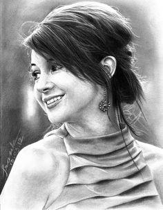 Shailene Woodley ©2012   FrankGo  Pencil (4H, HB, 6B) and Mech pencil (4H & 2B) on Paper.