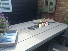 Selfmade summertable