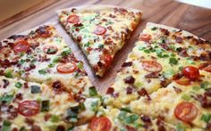 Scrambled Egg Pizza/Breakfast Pizza