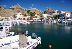 Myrina, Lemons, Greece - Harbor