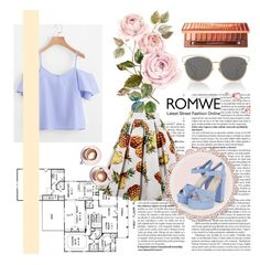 """romwe"" by a777a ❤ liked on Polyvore featuring Urban Decay, Christian Dior and Martha Stewart"