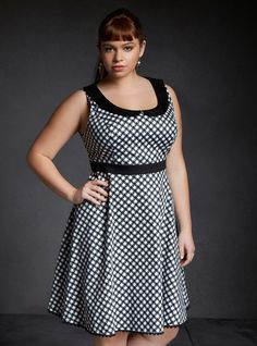 Orphan Black Alison Peter Pan Collar Dress Pre-Sale | Torrid I'm right between a 14 and a 16.
