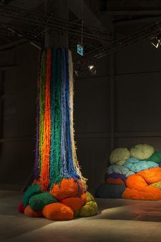 """""""I remember environments. I remember color climates. I remember textures,"""" Sheila Hicks told an audience during her talk at Design Miami/ Basel last week. At 79 years old, on the heels of the Whitney Biennial (where her cascading pillar of fibers was among the standout works) and with an ongoing series of kaleidoscopic installations at the Palais de Tokyo, Hicks' rapport with color is longstanding and undisputed."""