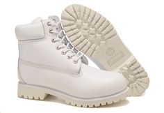 Cheap Timberland Heritage Classic 6-Inch Premium Waterproof Boots Mens All White huge discount sale