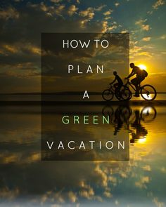 You don't have to visit some far-flung locale to take an eco vacation. Places To Travel, Travel Destinations, Places To Go, Travel Guides, Travel Tips, Slow Travel, Responsible Travel, Sustainable Tourism, To Infinity And Beyond