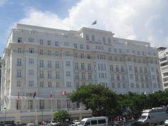hotel Copacabana palace.