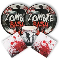 zombie party supplies from wwwdiscountpartysuppliescom - Zombie Party Supplies