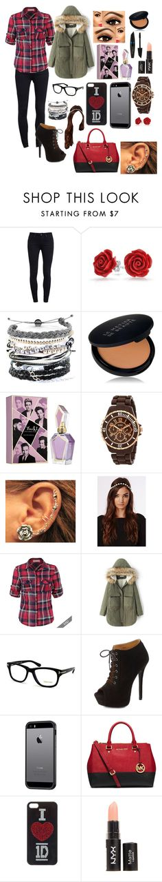 """""""#25"""" by abigail-jayne-booker on Polyvore featuring Paige Denim, Bling Jewelry, Domo Beads, Le Métier de Beauté, XOXO, Missguided, Tom Ford, Charlotte Russe, ETUÍ and MICHAEL Michael Kors"""