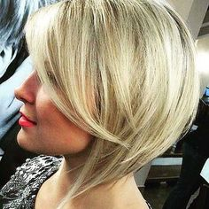 Blonde Bob Haircut