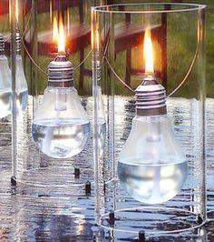 Ideas for Upcycling Lightbulbs Fun ideas for those old incandescent light bulbs.Fun ideas for those old incandescent light bulbs.