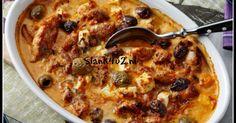 Pesto kip ovenschotel met feta en olijven Het beste van Italië en Griekenland, pesto en feta kaas, is samengevoegd in dit geweldige kip gerecht waar iedereen van gaat smullen. Een klassiek gerecht in een nieuw jasje. Kip pesto kent iedereen wel, zo niet dan moet je... #crèmefraîche #fetakaas #kip