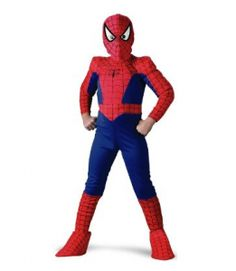 Spiderman Character Clothing & Accessories for 2 to 7 yrs old
