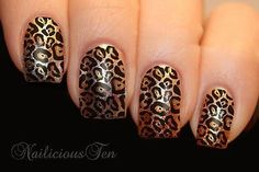 You will receive: 12pcs Transparent Leopard Skin Print Designs on clear water…