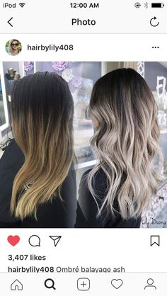 Balayage vorher und nachher - # Check more at haar. The loss of hair girls Brown Hair Balayage, Brown Blonde Hair, Hair Color Balayage, Honey Balayage, Bayalage, Blonde Balayage, Balayage Before And After, Ombré Hair, Hair Color And Cut