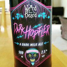 Dark Hopfler by Weird Beard Brew Co. #untappd