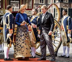 King Willem - Alexander and Queen Maxima, Princess Laurentien and Prince Constantijn of The Netherlands attend the opening of the Prince's Day 2016 (Prinsjesdag) at the Binnenhof in The Hague on September 20, 2016. Prince's Day (Prinsjesdag ) is the day on which the reigning monarch of the Netherlands addresses a joint session of the Dutch Senate and House of Representatives in the Ridderzaal or Hall of Knights in The Hague.