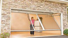 Consider Installing a Garage Door Screen