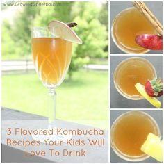 3 Flavored Kombucha Recipes Your Kids Will Love To Drink | www.homemademommy.net
