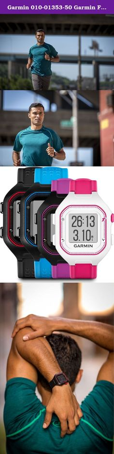 Garmin 010-01353-50 Garmin Forerunner 25 (Large) Black/Red Bundle with Chest strap HRM Europe Version. Take your running to the next level. This easy-to-use GPS running watch tracks distance, pace, heart rate1 and personal records. Stay on top of your fitness goals between workouts with activity tracking2 features that remind you when it's time to move and count steps and calories burned all day. Stay connected by pairing it with your smartphone for text and call alerts and automatic… Running Gps, Running Watch, Calories Burned, Burn Calories, You Fitness, Fitness Goals, Track Distance, Gps Navigation, Large Black