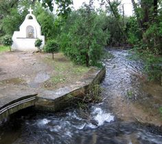 "Shrine of St. Lydia where she was baptized by Paul in Philippi aka Filippoi: A woman named Lydia, from the city of Thyatira, a seller of purple fabrics, a worshiper of God, was listening; and the Lord opened her heart to respond to the things spoken by Paul. And when she and her household had been baptized, she urged us, saying, ""If you have judged me to be faithful to the Lord, come into my house and stay."" And she prevailed upon us. -Acts 16:14-15(NAS)"