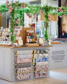 Stationery organisation inspo from our beautiful pop up store – Bespoke Letterpress – Bespoke Letterpress Gift Shop Interiors, Flower Shop Interiors, Store Interiors, Flower Shop Decor, Flower Shop Design, Stationary Shop, Stationery Store, Boutique Deco, Flower Boutique