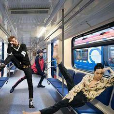Funny Kpop Memes, Exo Memes, Kris Wu, Meme Faces, Funny Faces, Chanbaek, K Pop, Baekhyun, Tao Exo