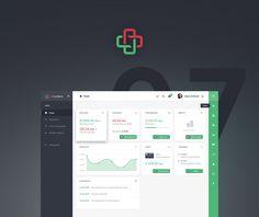 Dashboard - Financial App - RWD on Behance