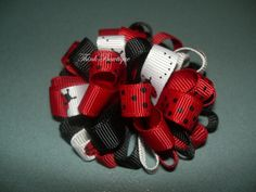 How to make a puffy loopy bow - Wholesale grosgrain ribbon online supplier Australia.