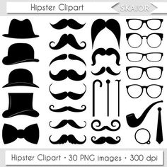 Items similar to Mustache Clipart Digital Mustache Clip Art Hipster Clipart Vector Mustache Silhouette Gentleman Clipart Invitations Retro Party Printable on Etsy Mustache Party, Moustache, Mustache Birthday, Diy Father's Day Gifts, Father's Day Diy, Mustache Wallpaper, Pot A Crayon, Circle Labels, Retro Party