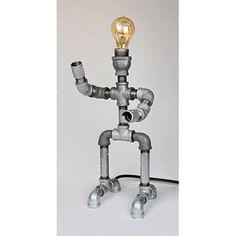 Metrotex Designs Industrial Evolution Robot Pipe Lamp