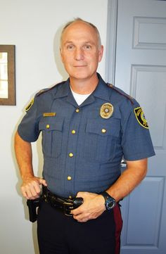 After long career with state police, Georgetown chief right at home