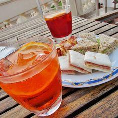 Aperol Soda Aperitif - my Favorite www.cottageandbeach.net