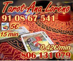 Tarot muy economico de Ana Loreno visa 5 eur 15 min 91 08 67 541 o 806 131 079 a 0.42  Mejora lo que te depara el futuro con mi tarot natural y s ..  http://caceres-city.evisos.es/tarot-muy-economico-de-ana-loreno-visa-5-eur-15-min-91-08-67-541-id-651601