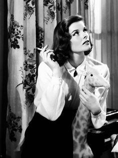 Katharine Hepburn. So ahead of her time.