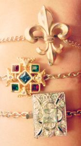 Antique Jewelry DIY: On a Whimsy