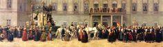 Seidenhaube | Baden 1789 bis 1918 - Festzug der badischen Landestrachten