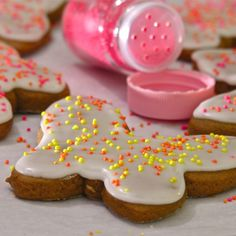 easybaked says these are chewy & sweet and very easy to cut out - the best gingerbread cookies ever!