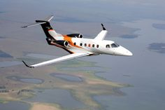 Embraer Phenom 300, purely for continental travel