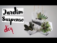 Isabelle Verona : DIY: Terrário Geométrico Suspenso feat. Blog Youth Mag