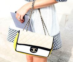 Trending Street Style Fashion: Chanel Bag