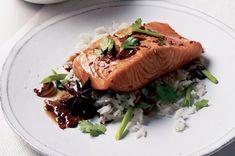 Losos po asijsku | Apetitonline.cz Food And Drink, Turkey, Favorite Recipes, Fish, Meat, Peru, Beef