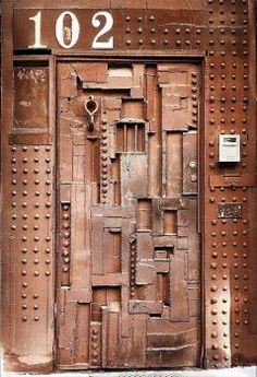 Door ~  Soho, New York, NY, USA (70 pieces)