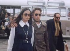 Bob and Sara Dylan, 1969.