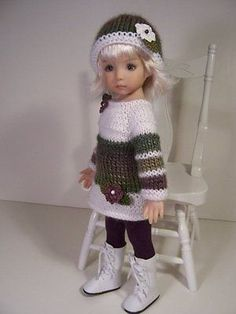 """""""Autumn Mist"""" Made for 13"""" Effner Little Darling ~ by TDDesigns in Dolls & Bears, Dolls, Clothes & Accessories, Modern, Other   eBay. SOLD for $68.59 on 10/12/14."""