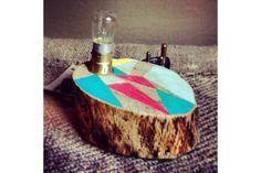 Flat Tree Stump Light (small) by Beards & Banjos Tree Stump, Banjos, Beards, Design, Facebook, Flat, Inspiration, Ideas, Biblical Inspiration